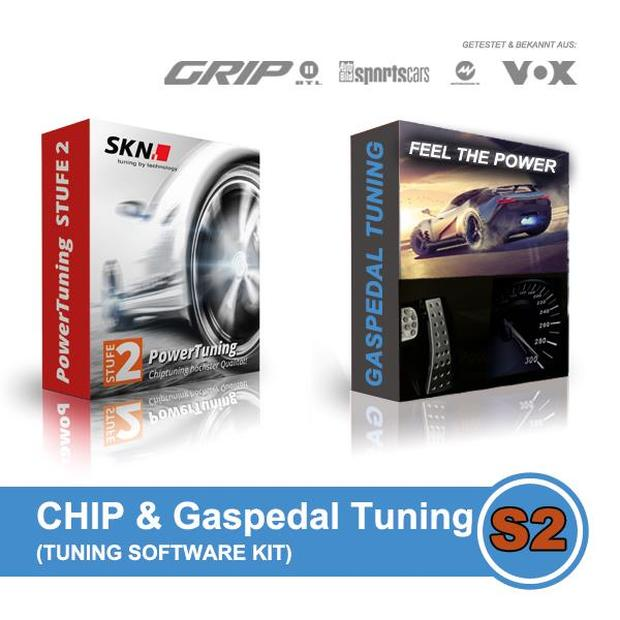 SKN Softwareoptimierung Chip & Gaspedal Tuning Kit 2in1 Stufe 2 für fast jedes Fahrzeug