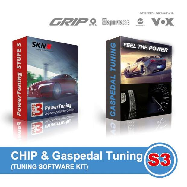 SKN Softwareoptimierung Chip & Gaspedal Tuning Kit 2in1...